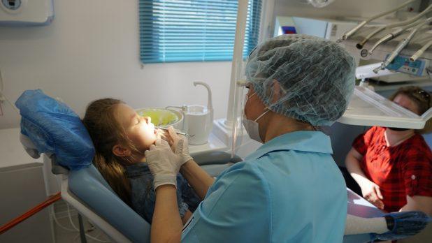 Вокнаволок, Костомукша, передвижной стоматологический комплекс