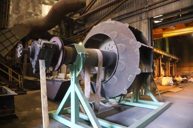 Рабочее колесо предыдущего дымососа TDR-245