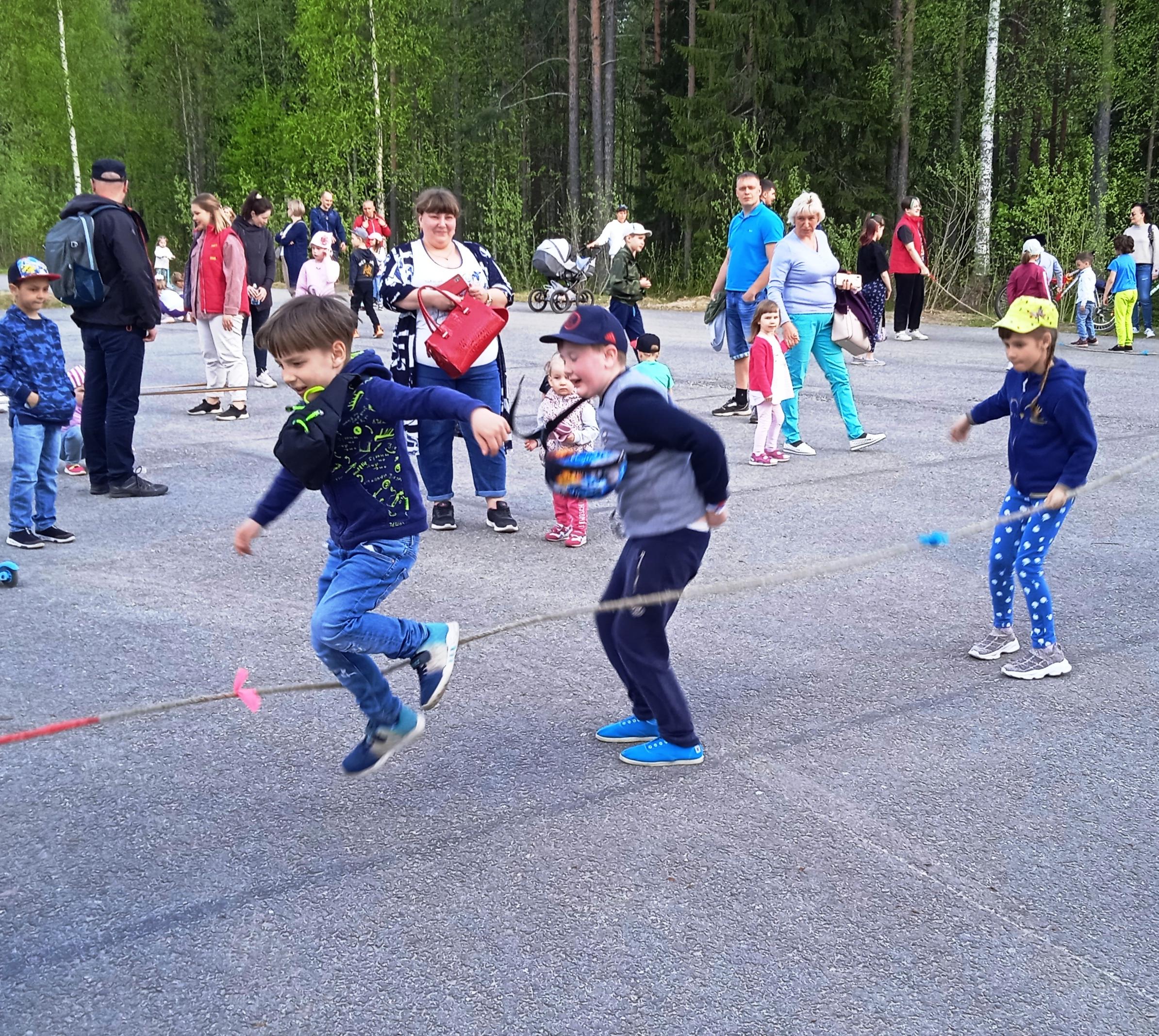 День защиты детей в Костомукше 2021