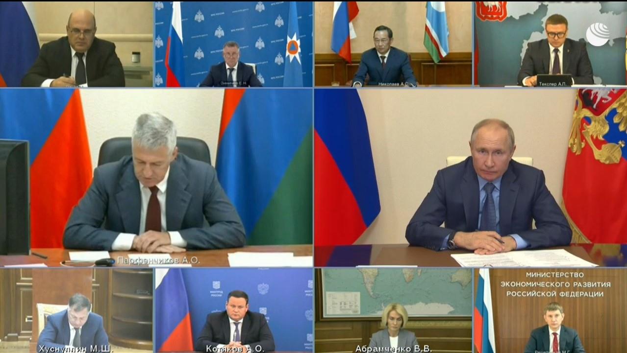 Конференция Главы Карелии с Президентом РФ