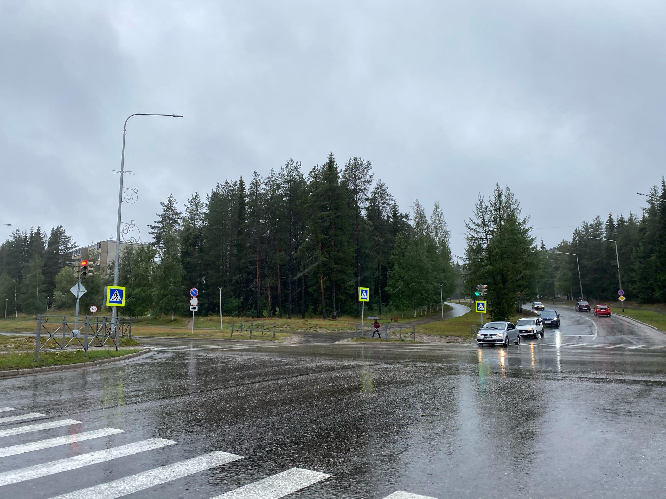 Дождь Костомукша