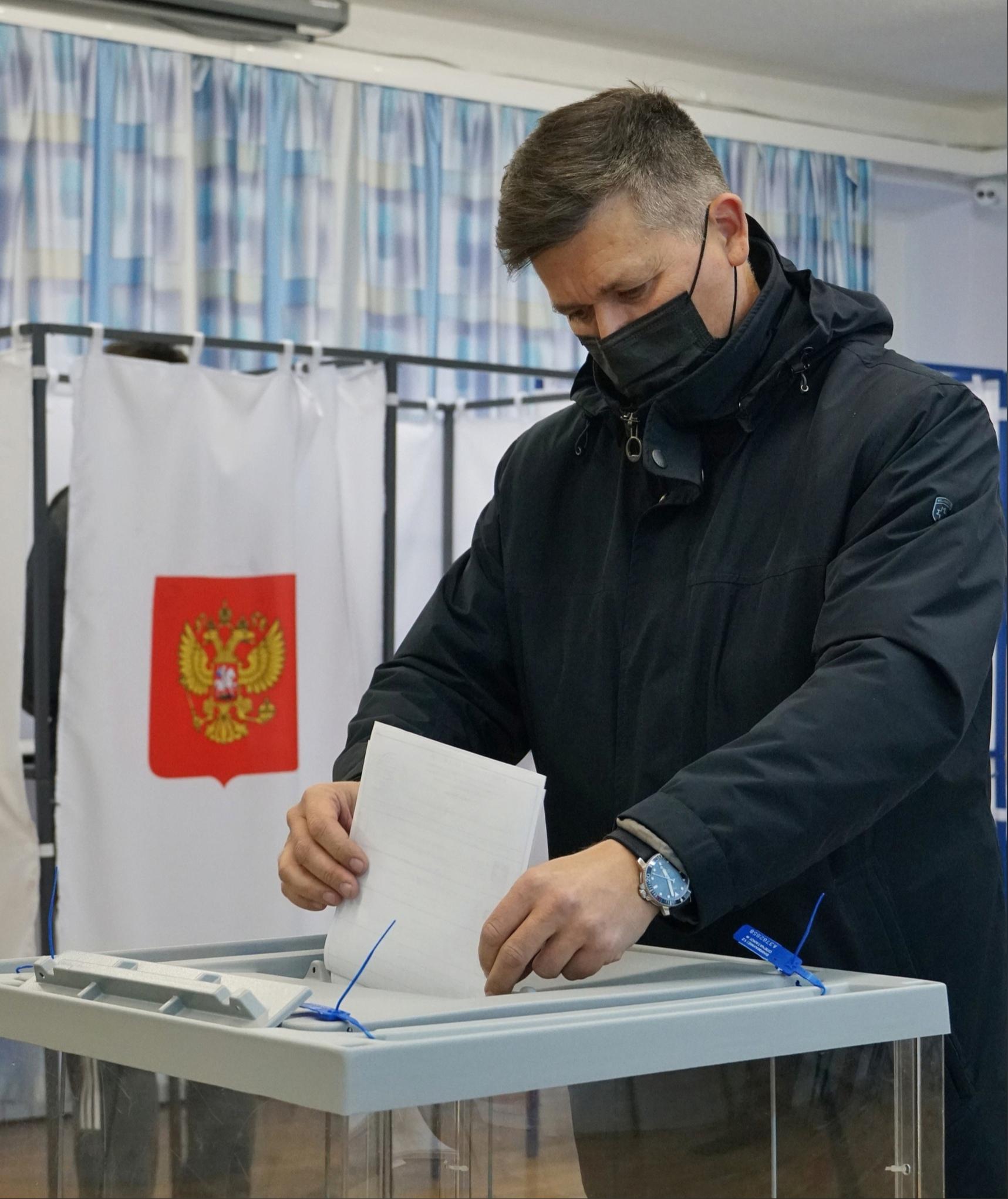 Максим Воробьёв Костомукша выборы Заксобрание